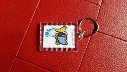 Final Fantasy Black Mage Keychain by Rexcalius