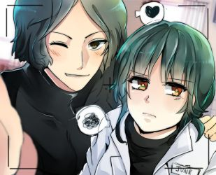AgentMax and Dr.June [SCP THAI BRANCH] by MKdonut