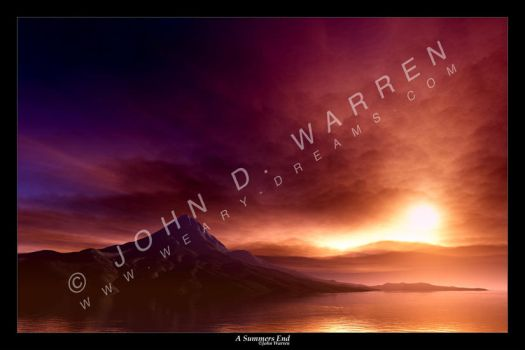 A Summers End by johnwarren