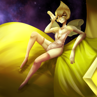 Yellow Pearl by TheLegendaryUniverse