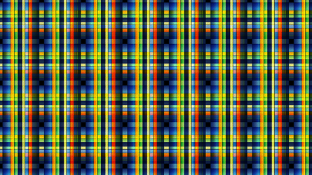 Stained Glass - Plaid Series by Lateralus138