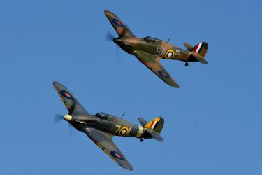 Hurricane Pair by Daniel-Wales-Images