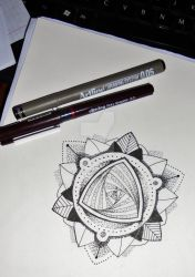 Mandala design #3 by MadPorcupine