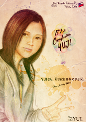 + Happy Birthday To YUI YUI + by KyseL
