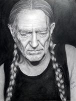 Willie Nelson by dreerose