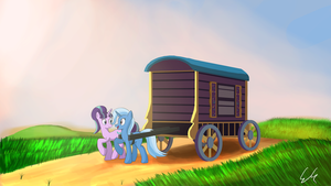 New Friends Traveling by EGStudios93