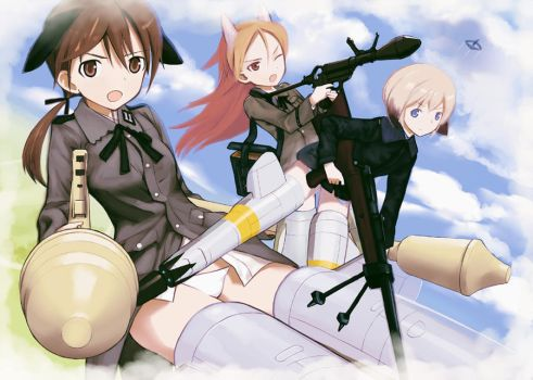Strike Witches 2nd by QU-RO-QURO