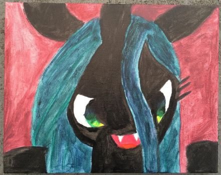 Chrysalis Laughing by faust2152