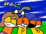 Phillo and Greyeen Friends Picture by Waltman13