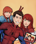 The Amazing Spider Family by HerlockCooper
