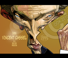 Vincent Cassel by RussCook