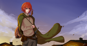 Kvothe - The Name of the Wind by CainDream