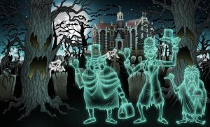 Haunted Mansion by vonblood