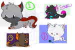.:Chubbie:. Adoptables ~! (1 SLOT OPEN) by EastyBug