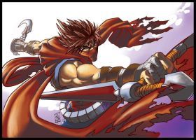 Hiryu Action by tew-tew