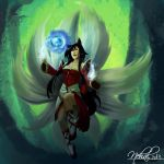 Ahri from league of legends by HalviMoon