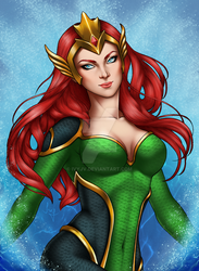 Queen Mera by ivyjv