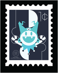 Stamp - Jack frost by BobberyB