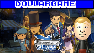 Dollargame - Professor Layaton Vs. Ace Attorney by Dollarluigi