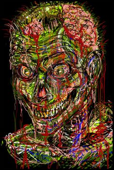 Zombie Face by Dismay666