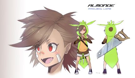 Project LIFE: Almonde Gijinka (CHESPIN) by Billiam-X
