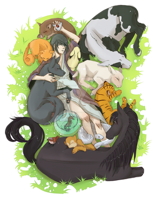 FruitsBasket Fanart by Darkenmarr