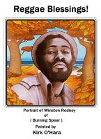 Kirk O'Hara portrait of Winston Rodney 1 by Paintmouth