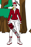 College Football Fangirl Woodcutter Indiana by Usaporkchops
