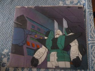 Original Sixshot Animation Cel by Nitrofires-Revenge
