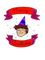 Merry Birthday by H-ManComics