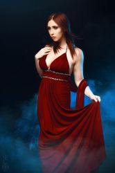 The Red Lady by Stephvanrijn