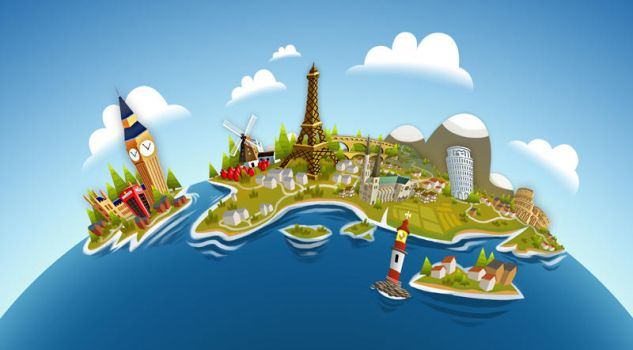 tiny world europe by ARFi
