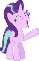Starlight Glimmer happy by CloudySkie