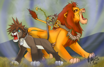 Pridelands Proud Roar by Hyuzumaki-Girl