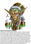 Heresy character guide: Jariel ul Thanaesh by AmethystSadachbia