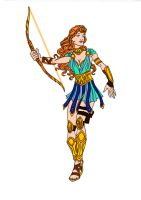 Artemis - Goddess of the Hunt! by Comicbookguy54321