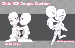 [ YCH Auction ] Chibi Couples | CLOSED by UmbraOwl