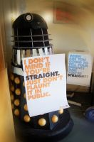 Dalek vs. Homophobia by Audrey-2