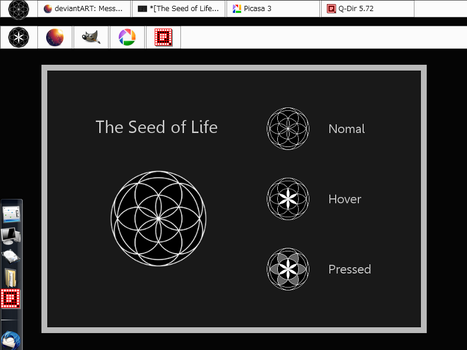 The Seed of Life_#Start button by dev-moon