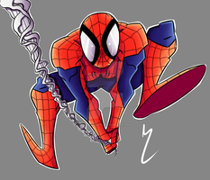 Your Friendly Neighborhood Spider-Man by Darkspike75