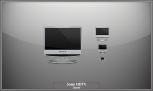 Sony HDTV Icon by mikevickrocks