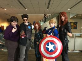 Avengers Assemble by WarriorNun