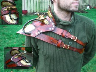 Steampunk Shoulder Armor by Skinz-N-Hydez
