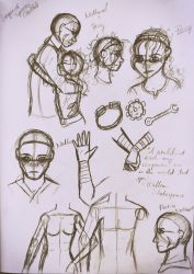 League of Tyrants: Percy and Nathaniel Sketches by Javott