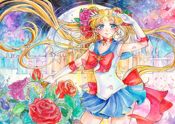 Sailor Moon Crystal by Princess--Ailish