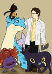Bruce Banner, Pokemon Professor by Turtletamer42