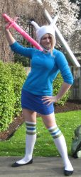 Fionna Cosplay by Checker-Bee