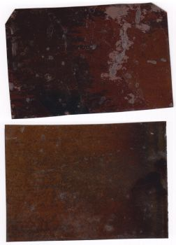 Grunge Metal Texture from Tintype Photos by CERose