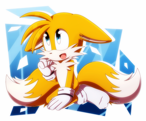 .:Tails:. by Blacky-Doll
