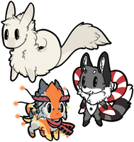 Smol Commission - Arvoar and co. by SpoodleButt